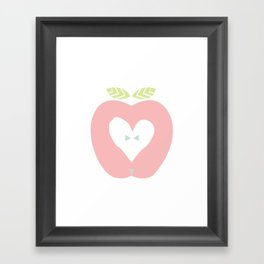 Apple décor Framed Art Print