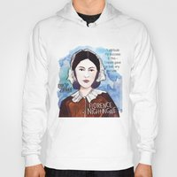florence Hoodies featuring Florence Nightingale by The History Witch