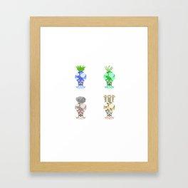 Octoroks Framed Art Print
