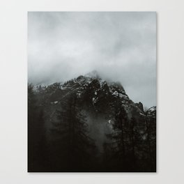 Slovenian Mountain Peaks / Viktor Juric Art Print Canvas Print