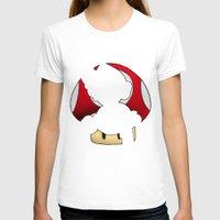 super mario T-shirts featuring Super Mario by SEANLAR94