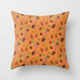 Autumn Twinkles Throw Pillow