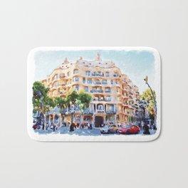 La Pedrera Barcelona Bath Mat