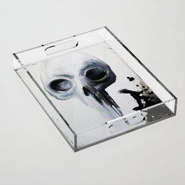 Skull Acrylic Tray