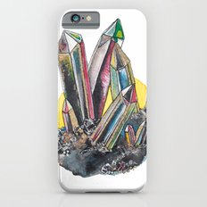 Rainbow Metallic Crystals iPhone 6s Slim Case