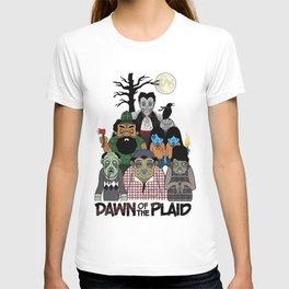 Dawn of the Plaid T-shirt