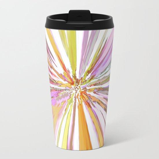 Watercolor Wild Metal Travel Mug