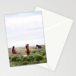Icelandic Horses Stationery Cards