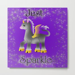 Just Sparkle Metal Print