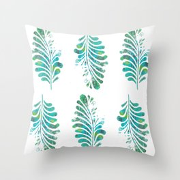 My feathered friend Throw Pillow