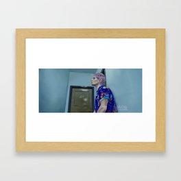 WE NEED TO TALK (piece #1) Framed Art Print