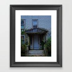 Anybody home? Framed Art Print