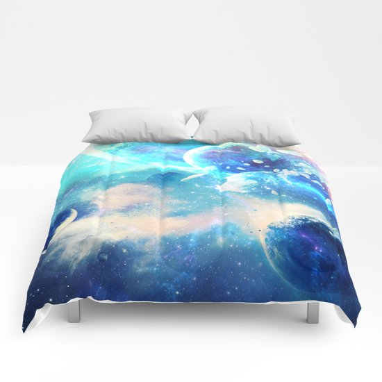 Planets Dimension Comforters