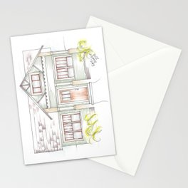 Green Craftsman Stationery Cards