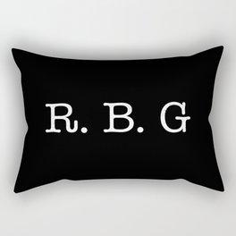 RBG - Ruth Bader Ginsburg Rectangular Pillow