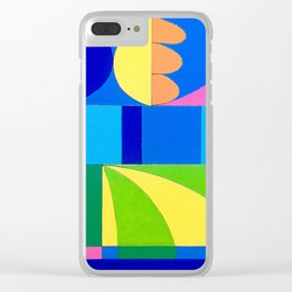 Venice Beach Clear iPhone Case