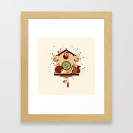 Coucou sauvage Framed Art Print