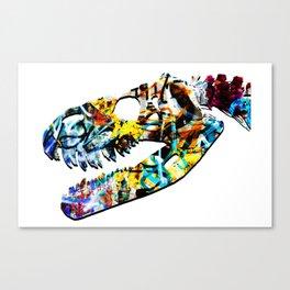 Grafitti Rex Vandal Art Canvas Print