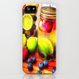 Fruitful Goodness iPhone Case