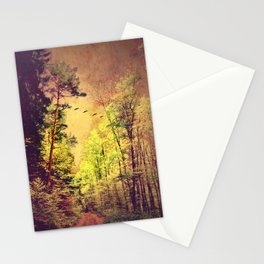 Ancient forrest Stationery Cards