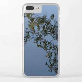 Reflection - Frederiksberg Haven, Denmark Clear iPhone Case