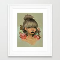 loish Framed Art Prints featuring ambrosial by loish