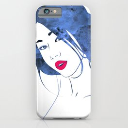 Red Maquillage iPhone Case