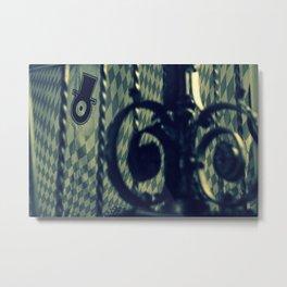 jewish railing RESIDENTS Metal Print