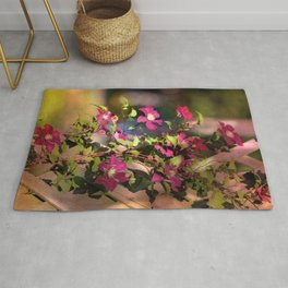 Clematis in Shade Rug