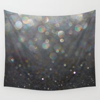 tolkien Wall Tapestries featuring There Can Be No Light (Ombré Glitter Abstract) by soaring anchor designs