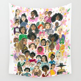 Women of the world Wall Tapestry