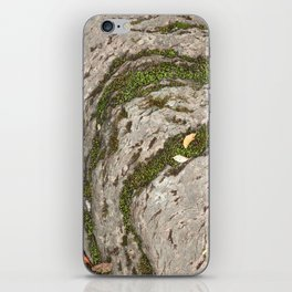 Mossy Stone Curves iPhone Skin