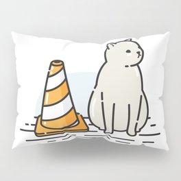 Street Cat / Wait (W8) Pillow Sham