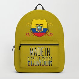 Made In Ecuador Backpack