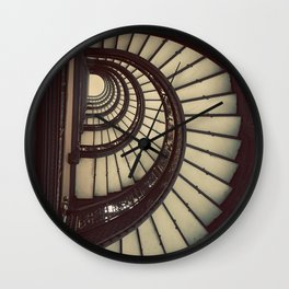 Chicago Rookery Building Staircase Color Photo Wall Clock