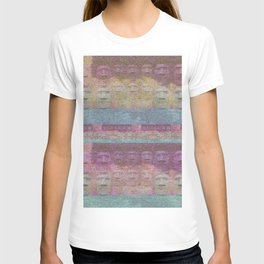 Easter Island Sunset Magic Print T-shirt