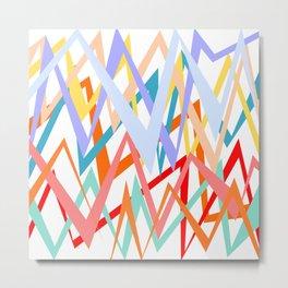 Colorful thunders Metal Print