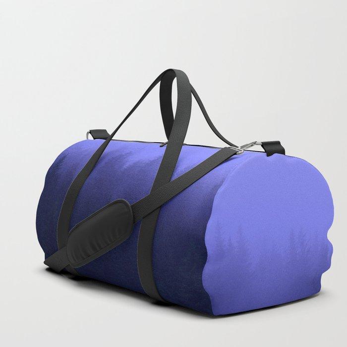 Periwinkle Fog 0367 - Seward, Alaska Duffle Bag