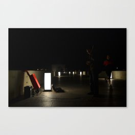 Jorge, chaval. Canvas Print