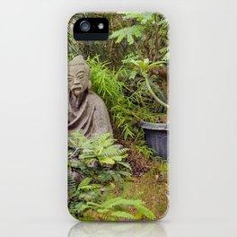 Japanese style Decoration at Guayaquil Botanical Garden iPhone Case