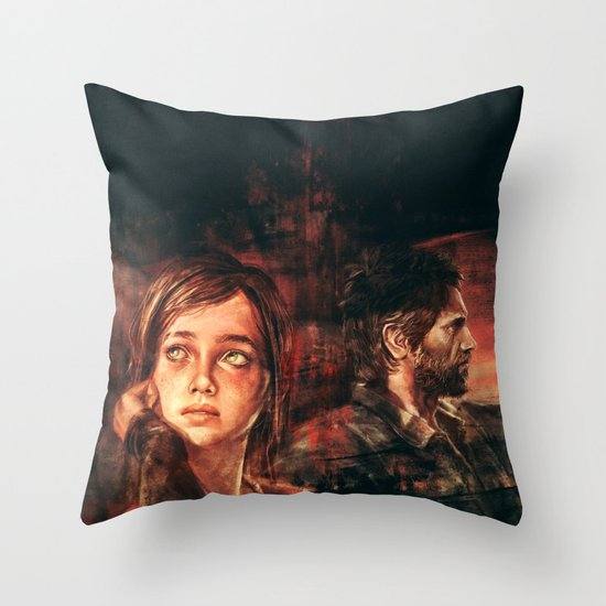 The Road Less Traveled Throw Pillow