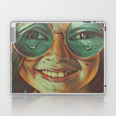 Face With Tears of Joy Laptop & iPad Skin