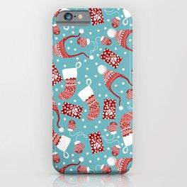Winter Pattern iPhone Case