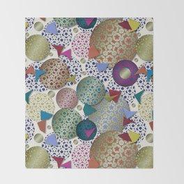 Penrose Tiling Inspiration Throw Blanket