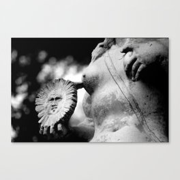 crafted stone 4 Canvas Print