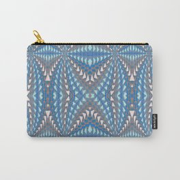Classic Psychedelic Retro Vortex Geometric Print Carry-All Pouch