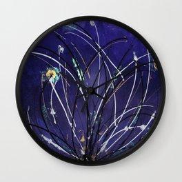Lotus birth Wall Clock