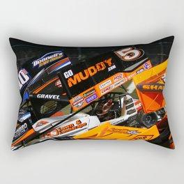salute to fans Rectangular Pillow