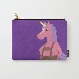 Unicorn In My Lederhosen Carry-All Pouch