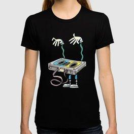 horror music cassette T-shirt